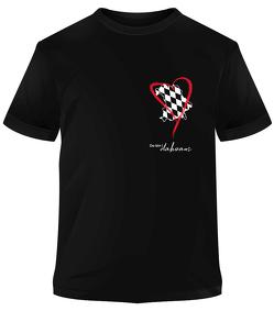 Premium-T-Shirt Do bin i dahoam von Stiefel,  Heinrich
