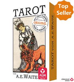 Premium Tarot von A.E. Waite von Colman Smith,  Pamela, Waite,  Arthur Edward