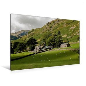 Premium Textil-Leinwand 120 cm x 80 cm quer, Ein Motiv aus dem Kalender England Streifzüge durch faszinierende Landschaften | Wandbild, Bild auf Keilrahmen, Fertigbild auf echter Leinwand, Leinwanddruck von CALVENDO