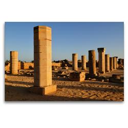 Premium Textil-Leinwand 120 x 80 cm Quer-Format Al-Baleed Archäologischen Park | Wandbild, HD-Bild auf Keilrahmen, Fertigbild auf hochwertigem Vlies, Leinwanddruck von Juergen Woehlke