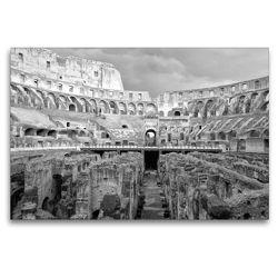 Premium Textil-Leinwand 120 x 80 cm Quer-Format Auf den Wegen der Gladiatoren | Wandbild, HD-Bild auf Keilrahmen, Fertigbild auf hochwertigem Vlies, Leinwanddruck von kattobello