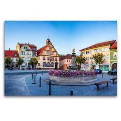 Premium Textil-Leinwand 120 x 80 cm Quer-Format Bad Rodach – die Thermalbadstadt im Herzen Deutschlands | Wandbild, HD-Bild auf Keilrahmen, Fertigbild auf hochwertigem Vlies, Leinwanddruck von Val Thoermer