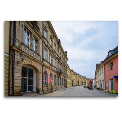 Premium Textil-Leinwand 120 x 80 cm Quer-Format Bayreuth Impressionen | Wandbild, HD-Bild auf Keilrahmen, Fertigbild auf hochwertigem Vlies, Leinwanddruck von Dirk Meutzner