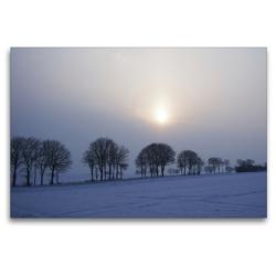 Premium Textil-Leinwand 120 x 80 cm Quer-Format Blaue Stunde   Wandbild, HD-Bild auf Keilrahmen, Fertigbild auf hochwertigem Vlies, Leinwanddruck von Tanja Riedel