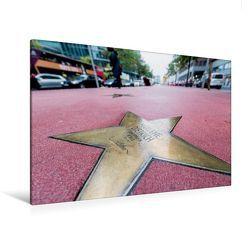 Premium Textil-Leinwand 120 x 80 cm Quer-Format Boulevard der Stars | Wandbild, HD-Bild auf Keilrahmen, Fertigbild auf hochwertigem Vlies, Leinwanddruck von Ingo Gerlach von Gerlach,  Ingo