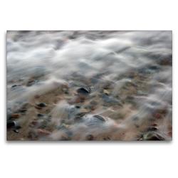 Premium Textil-Leinwand 120 x 80 cm Quer-Format Brandung | Wandbild, HD-Bild auf Keilrahmen, Fertigbild auf hochwertigem Vlies, Leinwanddruck von Katja Jentschura