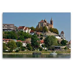 Premium Textil-Leinwand 120 x 80 cm Quer-Format Breisach am Rhein   Wandbild, HD-Bild auf Keilrahmen, Fertigbild auf hochwertigem Vlies, Leinwanddruck von Dieter-M. Wilczek