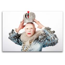 Premium Textil-Leinwand 120 x 80 cm Quer-Format Chicago Rose als Königin Elisabeth I | Wandbild, HD-Bild auf Keilrahmen, Fertigbild auf hochwertigem Vlies, Leinwanddruck von Peter Werner / wernerimages