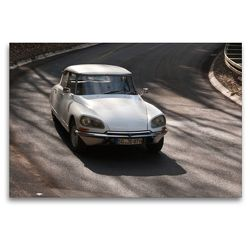 Premium Textil-Leinwand 120 x 80 cm Quer-Format Citroën DSuper Bj. 1971 | Wandbild, HD-Bild auf Keilrahmen, Fertigbild auf hochwertigem Vlies, Leinwanddruck von Meike Bölts