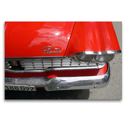 Premium Textil-Leinwand 120 x 80 cm Quer-Format Der furiose Fury – Spitzenmodell von Plymouth | Wandbild, HD-Bild auf Keilrahmen, Fertigbild auf hochwertigem Vlies, Leinwanddruck von Henning von Löwis of Menar