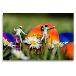 Premium Textil-Leinwand 120 x 80 cm Quer-Format Deutschland. Bochum Langendreer | Wandbild, HD-Bild auf Keilrahmen, Fertigbild auf hochwertigem Vlies, Leinwanddruck von Andreas Konieczka