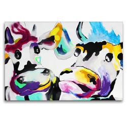 Premium Textil-Leinwand 120 x 80 cm Quer-Format Don't break my heart!   Wandbild, HD-Bild auf Keilrahmen, Fertigbild auf hochwertigem Vlies, Leinwanddruck von Elena Ennikova