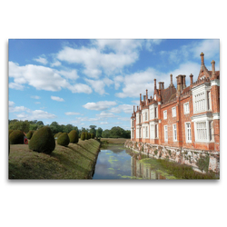 Premium Textil-Leinwand 120 x 80 cm Quer-Format East Anglia Englands wunderschöner Osten | Wandbild, HD-Bild auf Keilrahmen, Fertigbild auf hochwertigem Vlies, Leinwanddruck von Gisela Kruse