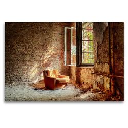 Premium Textil-Leinwand 120 x 80 cm Quer-Format Ein Motiv aus dem Lost Places Kalender – Daylight | Wandbild, HD-Bild auf Keilrahmen, Fertigbild auf hochwertigem Vlies, Leinwanddruck von N N