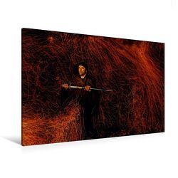 Premium Textil-Leinwand 120 x 80 cm Quer-Format Firestorm | Wandbild, HD-Bild auf Keilrahmen, Fertigbild auf hochwertigem Vlies, Leinwanddruck von Jens Schneider von Schneider,  Jens