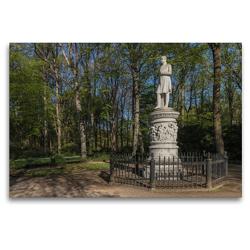 Premium Textil-Leinwand 120 x 80 cm Quer-Format Friedrich Wilhelm III | Wandbild, HD-Bild auf Keilrahmen, Fertigbild auf hochwertigem Vlies, Leinwanddruck von ReDi Fotografie
