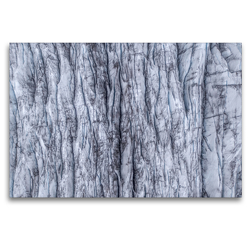 Premium Textil-Leinwand 120 x 80 cm Quer-Format Gletschereis | Wandbild, HD-Bild auf Keilrahmen, Fertigbild auf hochwertigem Vlies, Leinwanddruck von Christian Scheunert