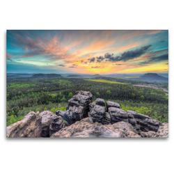 Premium Textil-Leinwand 120 x 80 cm Quer-Format Gohrisch | Wandbild, HD-Bild auf Keilrahmen, Fertigbild auf hochwertigem Vlies, Leinwanddruck von Michael Valjak