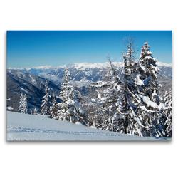 Premium Textil-Leinwand 120 x 80 cm Quer-Format Goldeck   Wandbild, HD-Bild auf Keilrahmen, Fertigbild auf hochwertigem Vlies, Leinwanddruck von Martin Rauchenwald