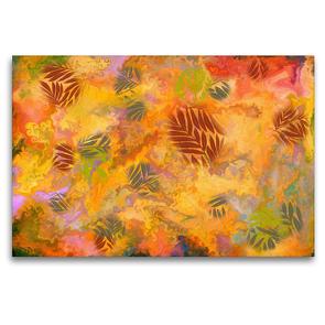 Premium Textil-Leinwand 120 x 80 cm Quer-Format Herbstgefühle   Wandbild, HD-Bild auf Keilrahmen, Fertigbild auf hochwertigem Vlies, Leinwanddruck von Danijela Hospes