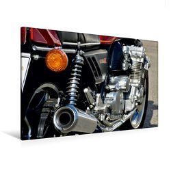 Premium Textil-Leinwand 120 x 80 cm Quer-Format Honda CBX 1000 | Wandbild, HD-Bild auf Keilrahmen, Fertigbild auf hochwertigem Vlies, Leinwanddruck von Ingo Laue von Laue,  Ingo