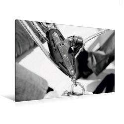 Premium Textil-Leinwand 120 x 80 cm Quer-Format Jolle Impressionen | Wandbild, HD-Bild auf Keilrahmen, Fertigbild auf hochwertigem Vlies, Leinwanddruck von NUPHO – Nihat Uysal Photography von - Nihat Uysal Photography,  NUPHO
