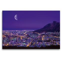 Premium Textil-Leinwand 120 x 80 cm Quer-Format Kapstadt, Südafrika | Wandbild, HD-Bild auf Keilrahmen, Fertigbild auf hochwertigem Vlies, Leinwanddruck von Christian Heeb
