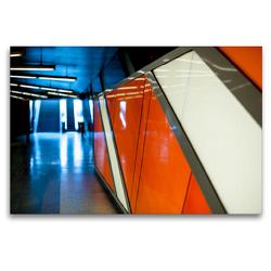 Premium Textil-Leinwand 120 x 80 cm Quer-Format Körnerstraße Köln – Ehrenfeld | Wandbild, HD-Bild auf Keilrahmen, Fertigbild auf hochwertigem Vlies, Leinwanddruck von Patricia Ahrens