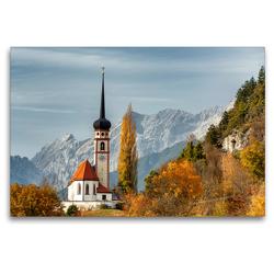 Premium Textil-Leinwand 120 x 80 cm Quer-Format Leiblfing | Wandbild, HD-Bild auf Keilrahmen, Fertigbild auf hochwertigem Vlies, Leinwanddruck von Danijel Jovanovic