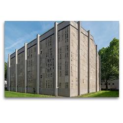 Premium Textil-Leinwand 120 x 80 cm Quer-Format Mannheim – Trinitatiskirche | Wandbild, HD-Bild auf Keilrahmen, Fertigbild auf hochwertigem Vlies, Leinwanddruck von Thomas Seethaler
