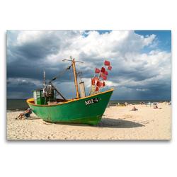 Premium Textil-Leinwand 120 x 80 cm Quer-Format Misdroy | Wandbild, HD-Bild auf Keilrahmen, Fertigbild auf hochwertigem Vlies, Leinwanddruck von Peter Schickert
