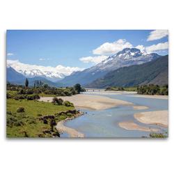 Premium Textil-Leinwand 120 x 80 cm Quer-Format Mount Alfred   Wandbild, HD-Bild auf Keilrahmen, Fertigbild auf hochwertigem Vlies, Leinwanddruck von frasy Photography