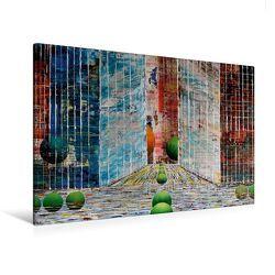 Premium Textil-Leinwand 120 x 80 cm Quer-Format New Yorker Satdtschlucht | Wandbild, HD-Bild auf Keilrahmen, Fertigbild auf hochwertigem Vlies, Leinwanddruck von Gerhard Kraus