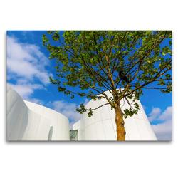 Premium Textil-Leinwand 120 x 80 cm Quer-Format Ozeaneum | Wandbild, HD-Bild auf Keilrahmen, Fertigbild auf hochwertigem Vlies, Leinwanddruck von Christian Müller