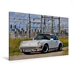 Premium Textil-Leinwand 120 x 80 cm Quer-Format Porsche 911 SC pure Ästhetik | Wandbild, HD-Bild auf Keilrahmen, Fertigbild auf hochwertigem Vlies, Leinwanddruck von Ingo Laue von Laue,  Ingo