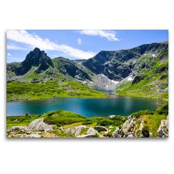 Premium Textil-Leinwand 120 x 80 cm Quer-Format RILA | Wandbild, HD-Bild auf Keilrahmen, Fertigbild auf hochwertigem Vlies, Leinwanddruck von Sina Georgiev-Bröhl