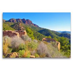 Premium Textil-Leinwand 120 x 80 cm Quer-Format Segart Castello | Wandbild, HD-Bild auf Keilrahmen, Fertigbild auf hochwertigem Vlies, Leinwanddruck von LianeM