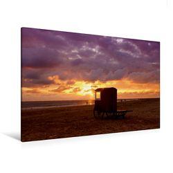 Premium Textil-Leinwand 120 x 80 cm Quer-Format Strand | Wandbild, HD-Bild auf Keilrahmen, Fertigbild auf hochwertigem Vlies, Leinwanddruck von Roland Störmer