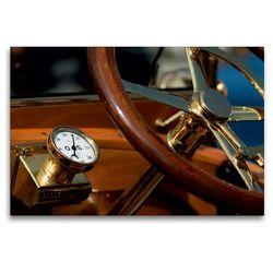 Premium Textil-Leinwand 120 x 80 cm Quer-Format Vintage cars | Wandbild, HD-Bild auf Keilrahmen, Fertigbild auf hochwertigem Vlies, Leinwanddruck von Martina Marten