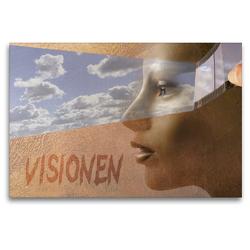 Premium Textil-Leinwand 120 x 80 cm Quer-Format Visionen   Wandbild, HD-Bild auf Keilrahmen, Fertigbild auf hochwertigem Vlies, Leinwanddruck von H.T.Manfred Zimmermann
