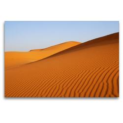 Premium Textil-Leinwand 120 x 80 cm Quer-Format Wüste in Erg Chebbi | Wandbild, HD-Bild auf Keilrahmen, Fertigbild auf hochwertigem Vlies, Leinwanddruck von Askson Vargard
