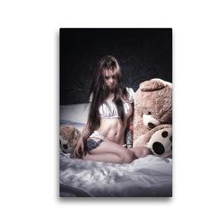 Premium Textil-Leinwand 30 x 45 cm Hoch-Format Alasca | Wandbild, HD-Bild auf Keilrahmen, Fertigbild auf hochwertigem Vlies, Leinwanddruck von Kai Zeminske
