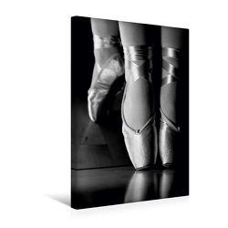 Premium Textil-Leinwand 30 x 45 cm Hoch-Format Ballett Schwarzweiss-Bilder | Wandbild, HD-Bild auf Keilrahmen, Fertigbild auf hochwertigem Vlies, Leinwanddruck von Anette/Thomas Jäger von Jäger,  Anette/Thomas