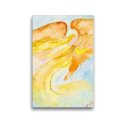Premium Textil-Leinwand 30 x 45 cm Hoch-Format Engel für Motivation   Wandbild, HD-Bild auf Keilrahmen, Fertigbild auf hochwertigem Vlies, Leinwanddruck von Gabriele-Diana Bode