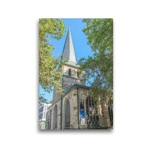 Premium Textil-Leinwand 30 x 45 cm Hoch-Format Essener Dom   Wandbild, HD-Bild auf Keilrahmen, Fertigbild auf hochwertigem Vlies, Leinwanddruck von pixs:sell@Adobe Stock