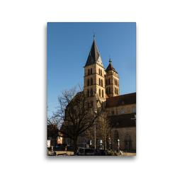 Premium Textil-Leinwand 30 x 45 cm Hoch-Format Esslingen am Neckar   Wandbild, HD-Bild auf Keilrahmen, Fertigbild auf hochwertigem Vlies, Leinwanddruck von Horst Eisele