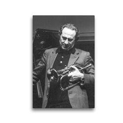 Premium Textil-Leinwand 30 x 45 cm Hoch-Format Franco Ambrosetti | Wandbild, HD-Bild auf Keilrahmen, Fertigbild auf hochwertigem Vlies, Leinwanddruck von Klaus Rohwer