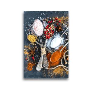 Premium Textil-Leinwand 30 x 45 cm Hoch-Format Gewürze | Wandbild, HD-Bild auf Keilrahmen, Fertigbild auf hochwertigem Vlies, Leinwanddruck von Rose Hurley