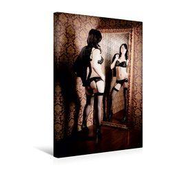Premium Textil-Leinwand 30 x 45 cm Hoch-Format Im Spiegel | Wandbild, HD-Bild auf Keilrahmen, Fertigbild auf hochwertigem Vlies, Leinwanddruck von Markus W. Lambrecht von W. Lambrecht,  Markus