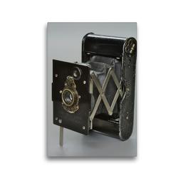 Premium Textil-Leinwand 30 x 45 cm Hoch-Format Kodak Pocket West – die Kamera für die Westentasche | Wandbild, HD-Bild auf Keilrahmen, Fertigbild auf hochwertigem Vlies, Leinwanddruck von N N